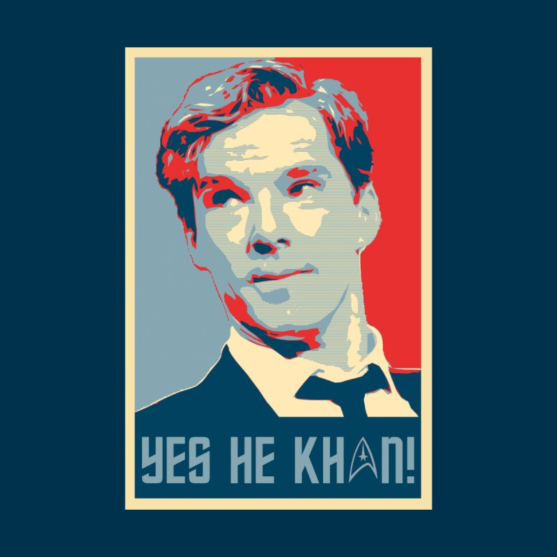 Yes he Khan! Women's Fitted T-Shirt by marv42's Artist Shop