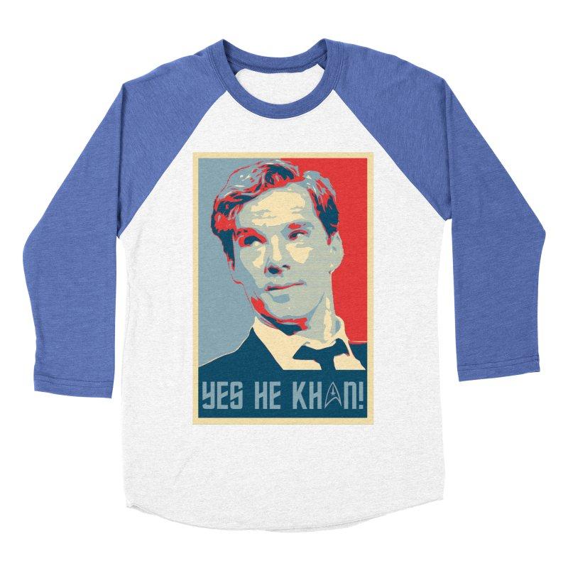 Yes he Khan! Men's Baseball Triblend T-Shirt by marv42's Artist Shop