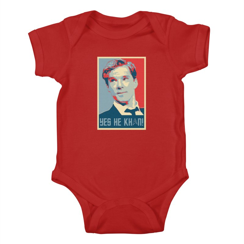 Yes he Khan! Kids Baby Bodysuit by marv42's Artist Shop