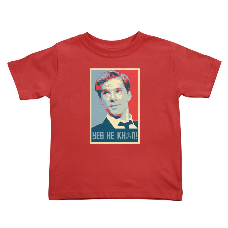 Yes he Khan! Kids Toddler T-Shirt by marv42's Artist Shop