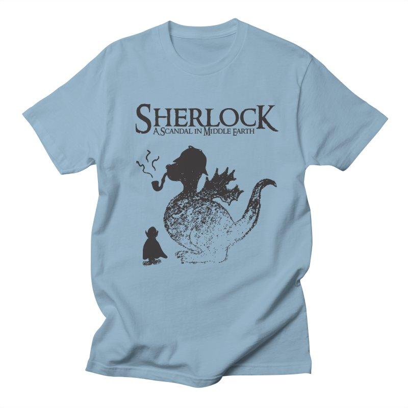 Sherlock: A Scandal in Middle-earth Men's T-shirt by marv42's Artist Shop
