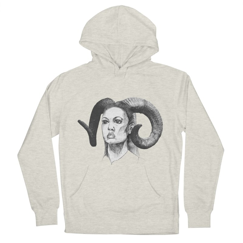 Horns Women's Pullover Hoody by marv42's Artist Shop