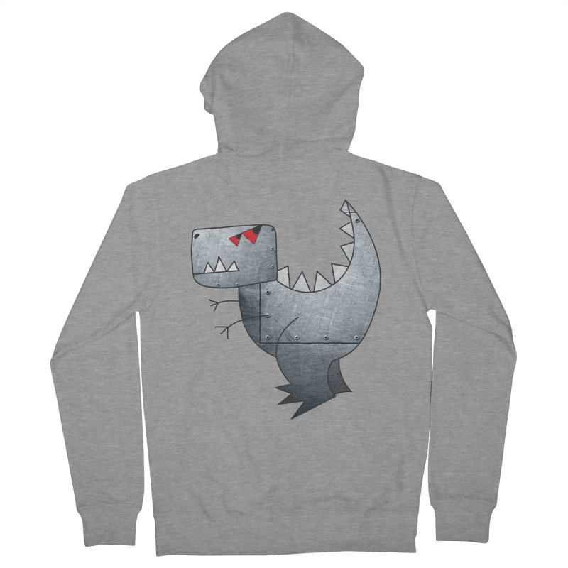 Dinobot Men's Zip-Up Hoody by marv42's Artist Shop