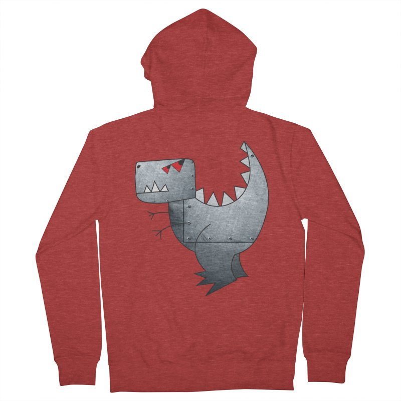 Dinobot Men's Zip-Up Hoody by marv42's Artist Shop