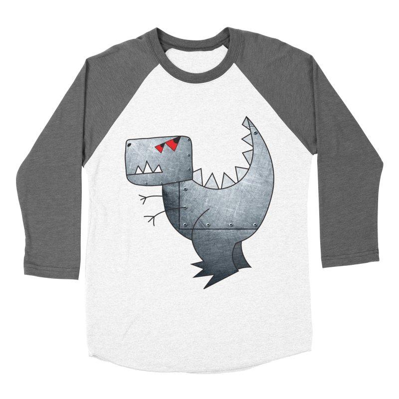 Dinobot Women's Baseball Triblend T-Shirt by marv42's Artist Shop