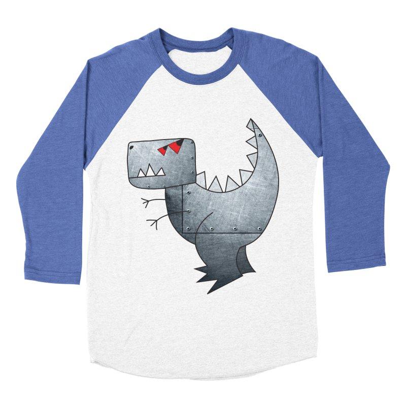 Dinobot Men's Baseball Triblend T-Shirt by marv42's Artist Shop