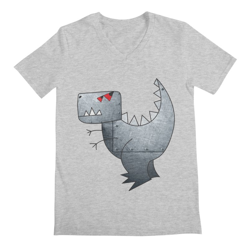 Dinobot Men's V-Neck by marv42's Artist Shop