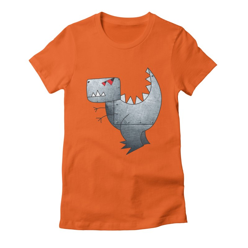 Dinobot Women's Fitted T-Shirt by marv42's Artist Shop