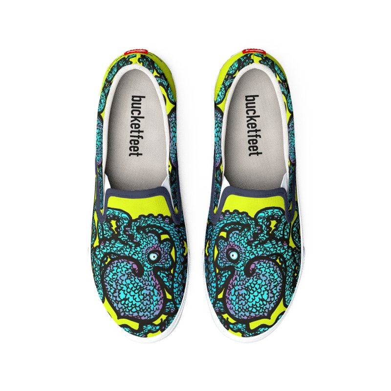 Henry the Happy Octopus Women's Shoes by maryannartdotcom's Artist Shop