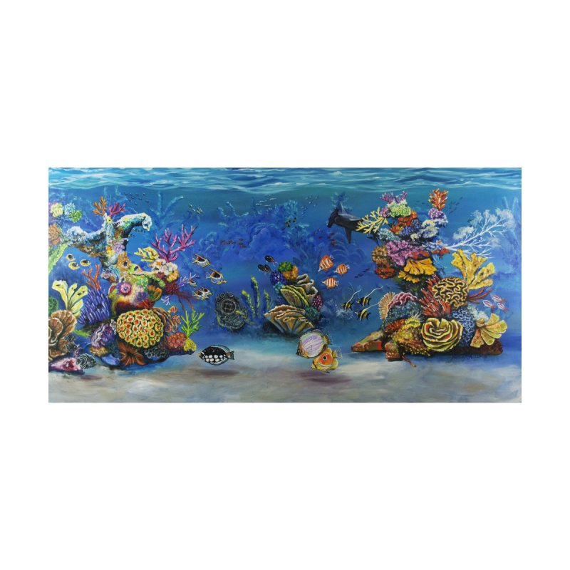 Coral Reef by maryannartdotcom's Artist Shop
