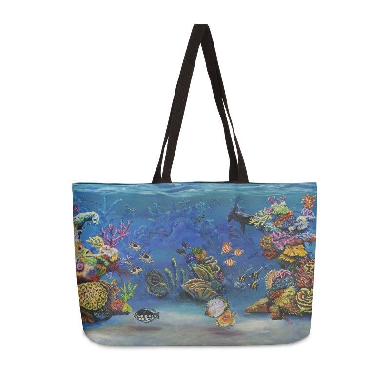 Coral Reef Accessories Bag by maryannartdotcom's Artist Shop
