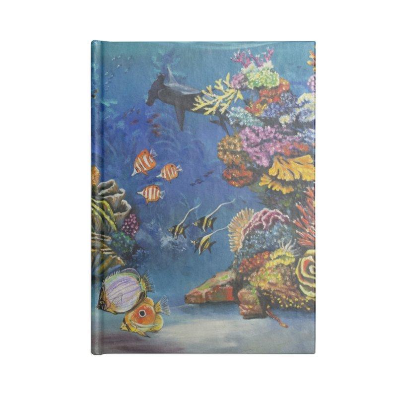 Coral Reef Accessories Notebook by maryannartdotcom's Artist Shop