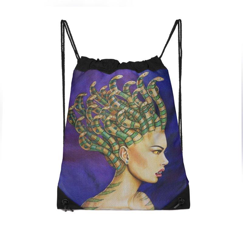 Medusa the Queen Accessories Bag by maryannartdotcom's Artist Shop