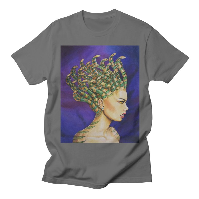 Medusa the Queen Men's T-Shirt by maryannartdotcom's Artist Shop