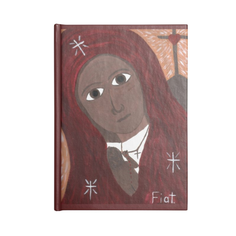 Blessed Mother and Child -African Accessories Notebook by Mary Kloska Fiat's Artist Shop