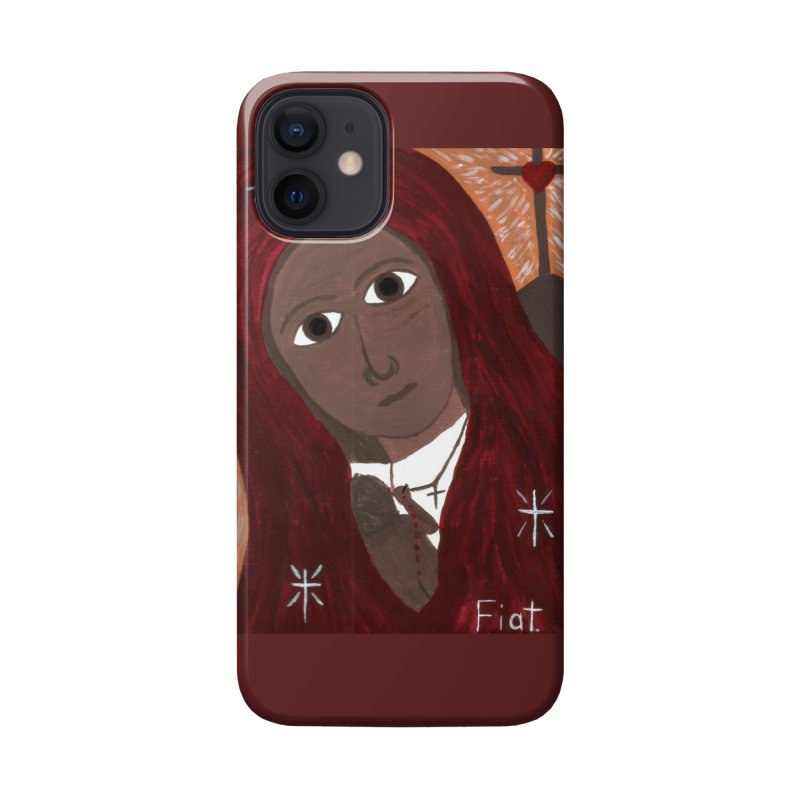 Blessed Mother and Child -African Accessories Phone Case by Mary Kloska Fiat's Artist Shop