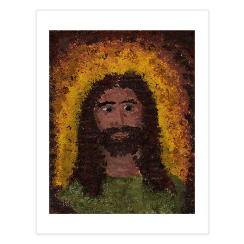 Jesus Home Fine Art Print by Mary Kloska Fiat's Artist Shop