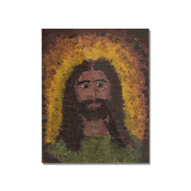 Jesus Home Mounted Acrylic Print by Mary Kloska Fiat's Artist Shop