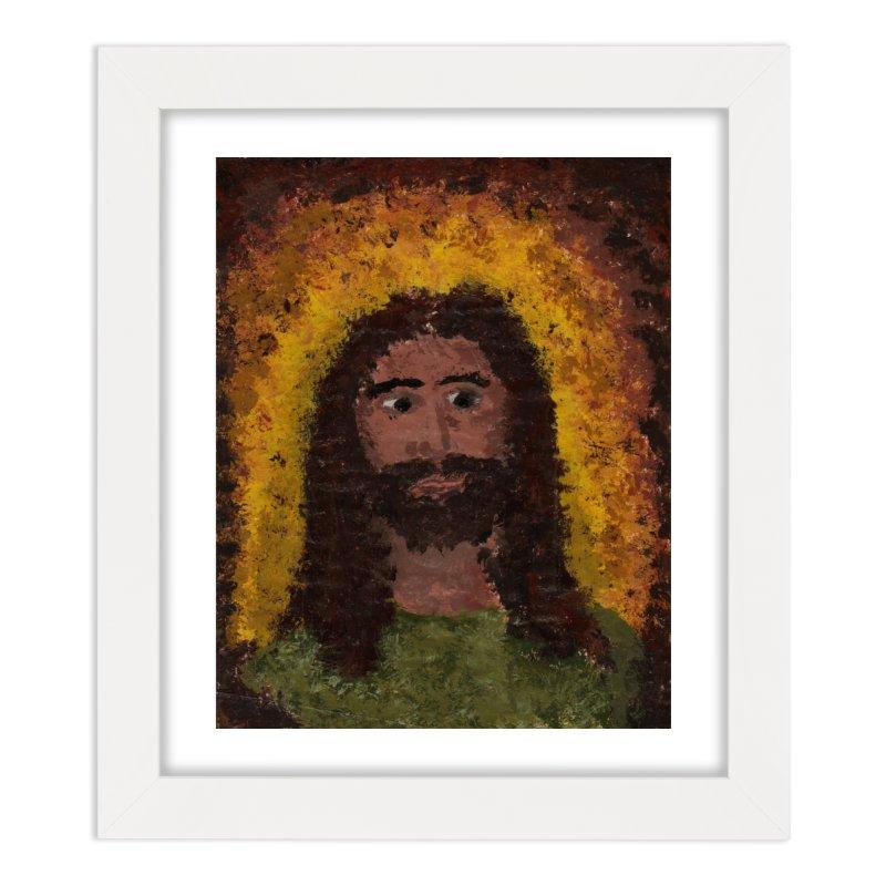 Jesus Home Framed Fine Art Print by Mary Kloska Fiat's Artist Shop