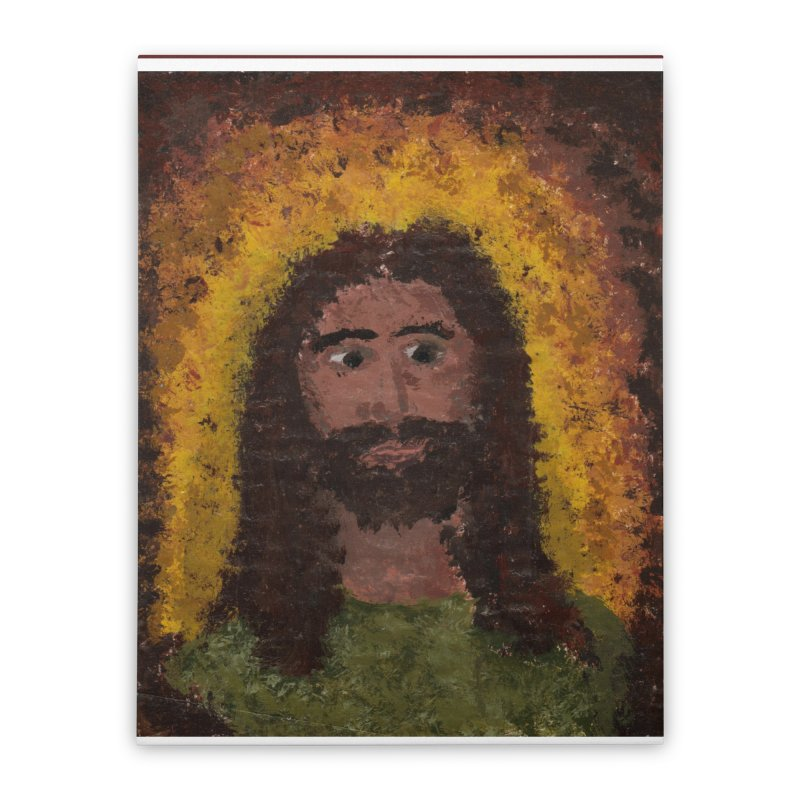 Jesus Home Stretched Canvas by Mary Kloska Fiat's Artist Shop