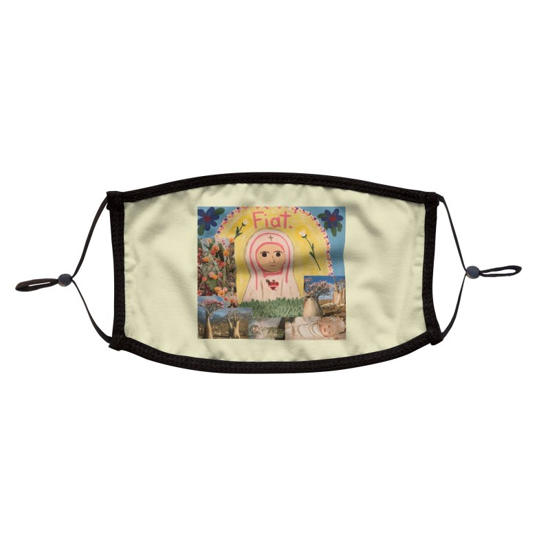 Maria Bambina -the Infant Mary Accessories Face Mask by Mary Kloska Fiat's Artist Shop