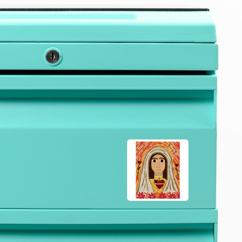 Immaculate Heart of Mary Accessories Magnet by Mary Kloska Fiat's Artist Shop