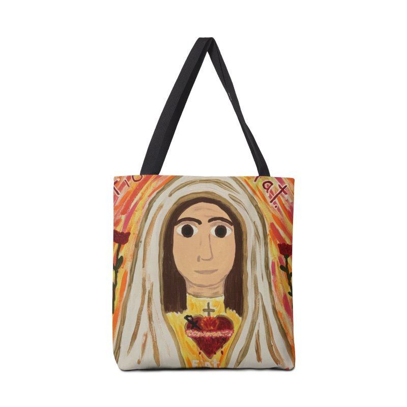 Immaculate Heart of Mary Accessories Bag by Mary Kloska Fiat's Artist Shop