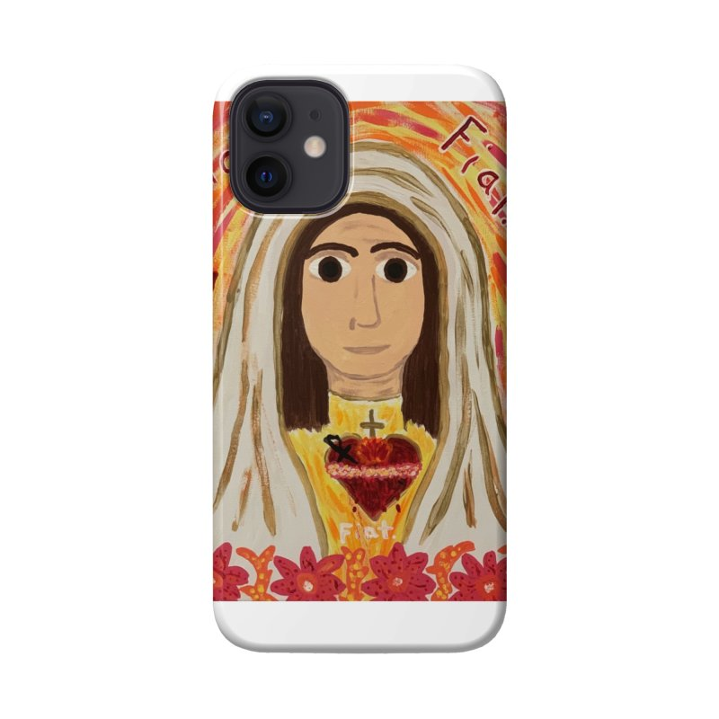 Immaculate Heart of Mary Accessories Phone Case by Mary Kloska Fiat's Artist Shop