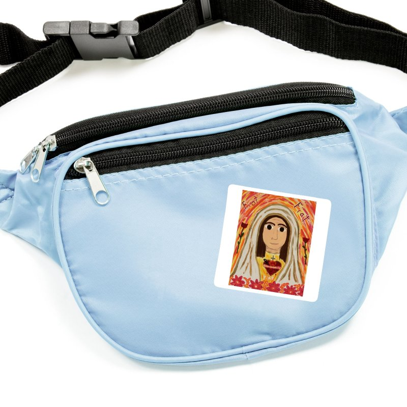 Immaculate Heart of Mary Accessories Sticker by Mary Kloska Fiat's Artist Shop
