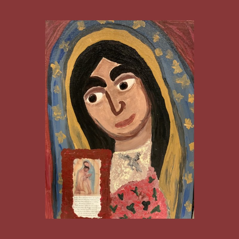 Our Lady of Guadalupe Home Fine Art Print by Mary Kloska Fiat's Artist Shop