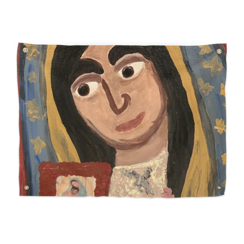Our Lady of Guadalupe Home Tapestry by Mary Kloska Fiat's Artist Shop