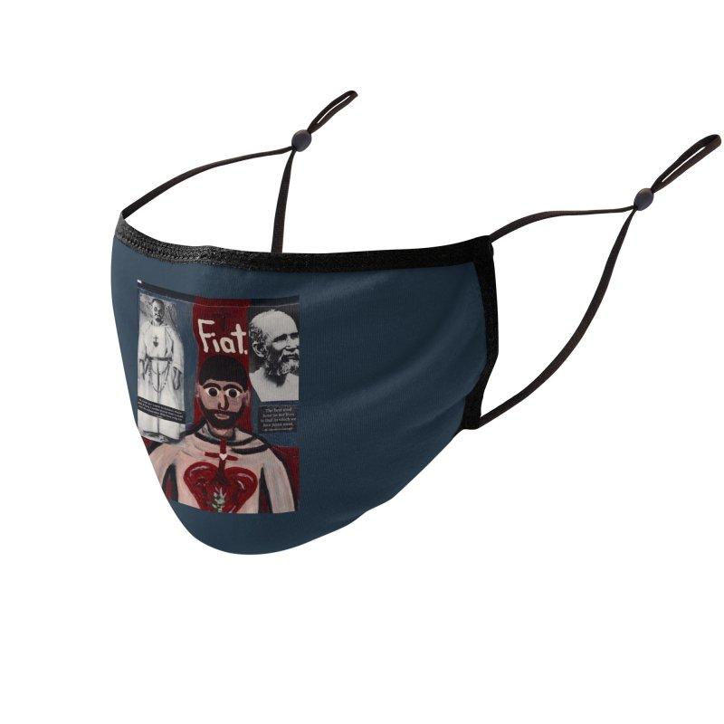 St. Charles de Foucauld Accessories Face Mask by Mary Kloska Fiat's Artist Shop