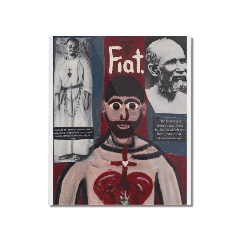 St. Charles de Foucauld Home Mounted Acrylic Print by Mary Kloska Fiat's Artist Shop