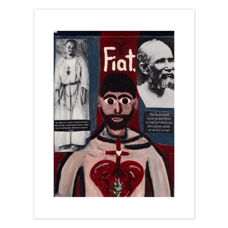 St. Charles de Foucauld Home Fine Art Print by Mary Kloska Fiat's Artist Shop