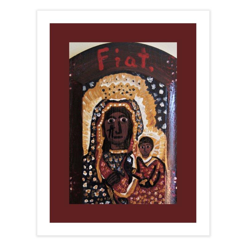 Our Lady of Czestohowa Home Fine Art Print by Mary Kloska Fiat's Artist Shop