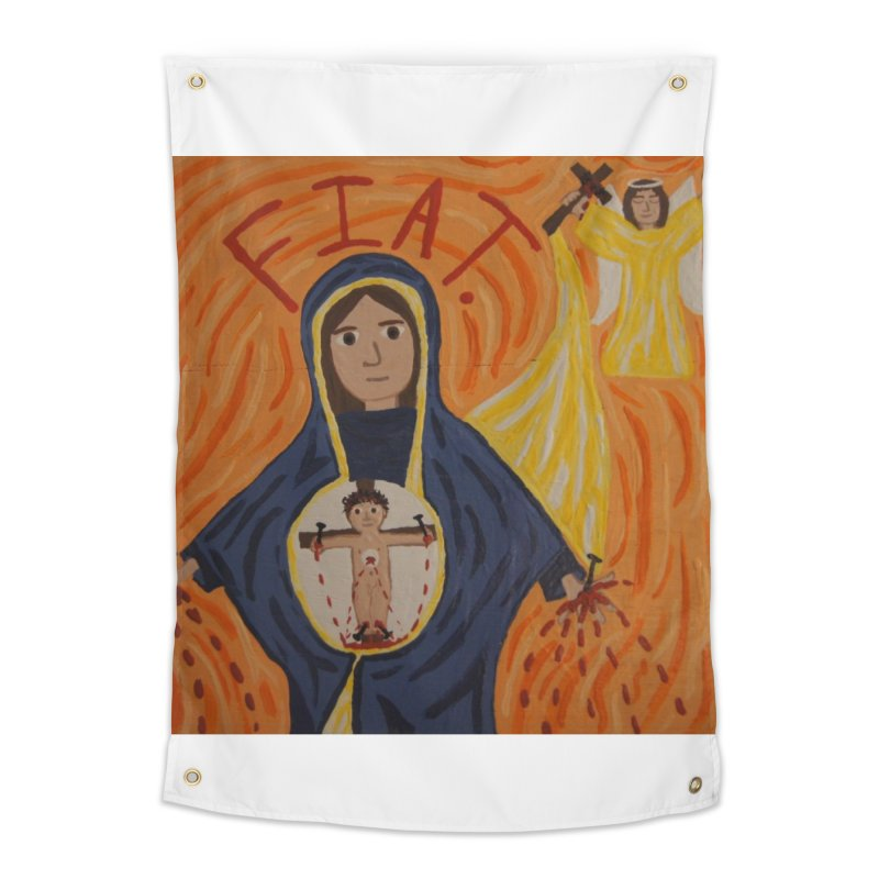 Annunciation Home Tapestry by Mary Kloska Fiat's Artist Shop