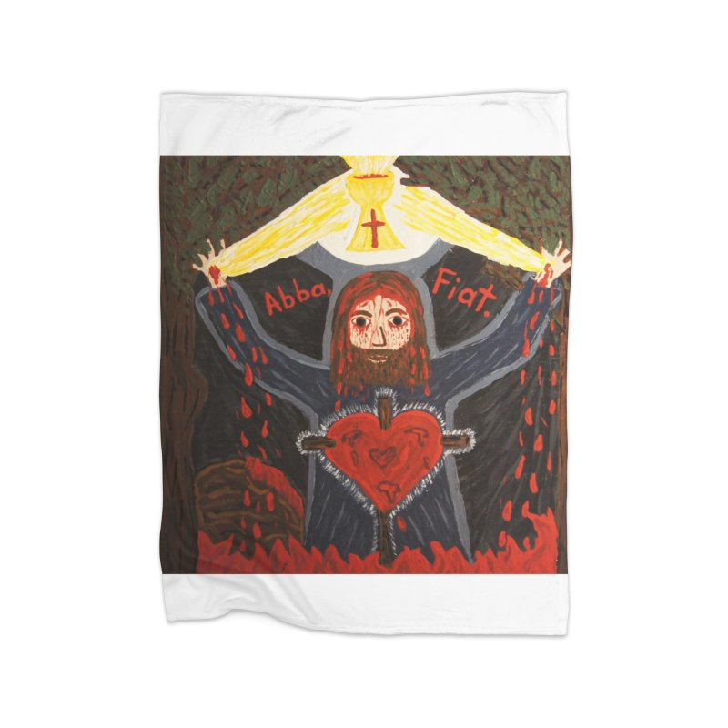 Gethsemane Home Blanket by Mary Kloska Fiat's Artist Shop