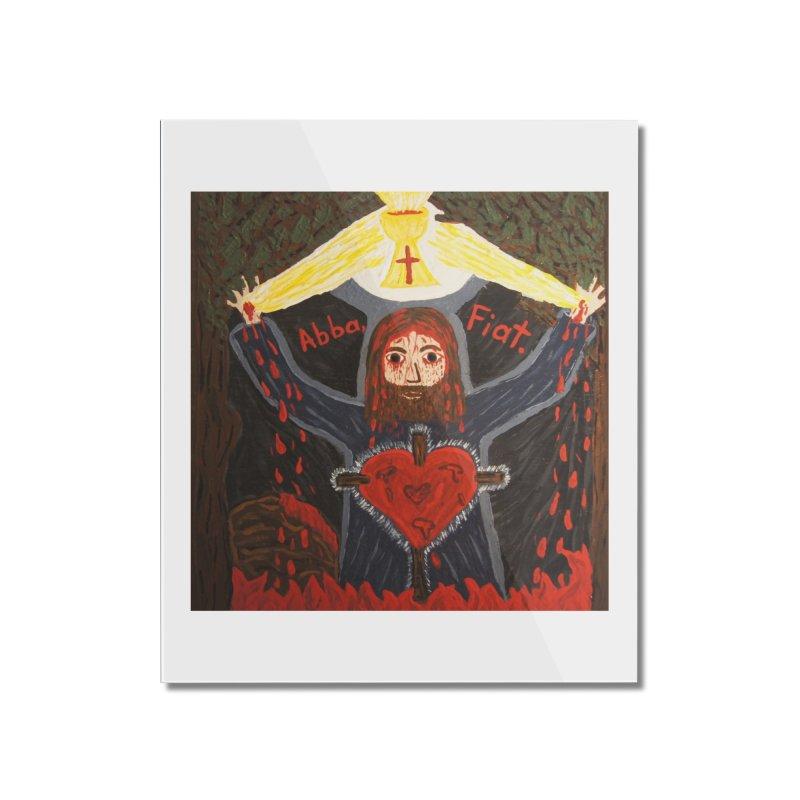 Gethsemane Home Mounted Acrylic Print by Mary Kloska Fiat's Artist Shop