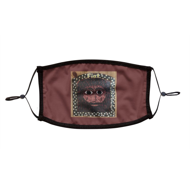 Face of the Passion Accessories Face Mask by Mary Kloska Fiat's Artist Shop