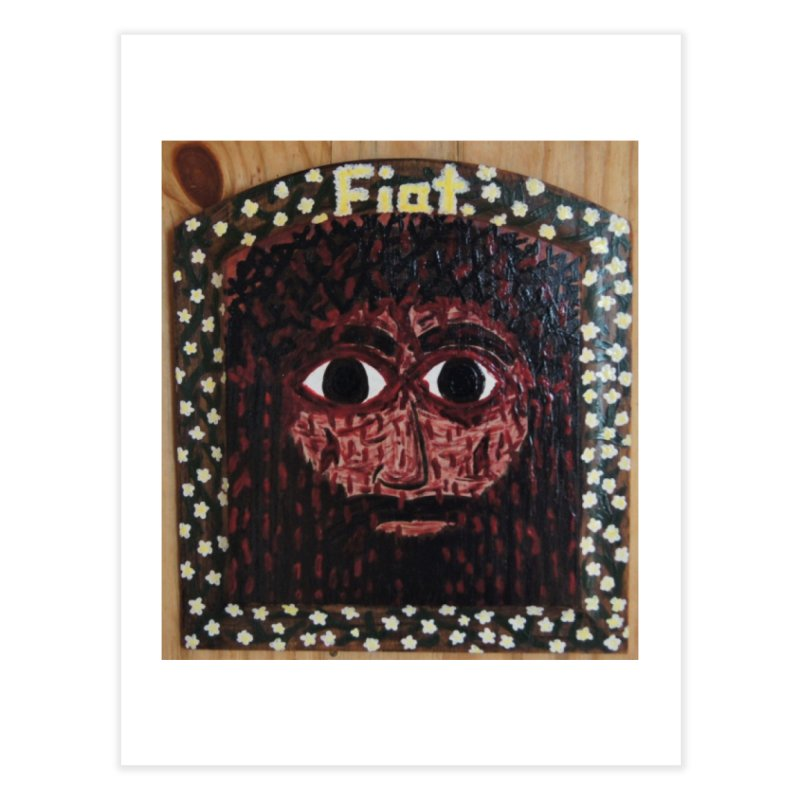 Face of the Passion Home Fine Art Print by Mary Kloska Fiat's Artist Shop