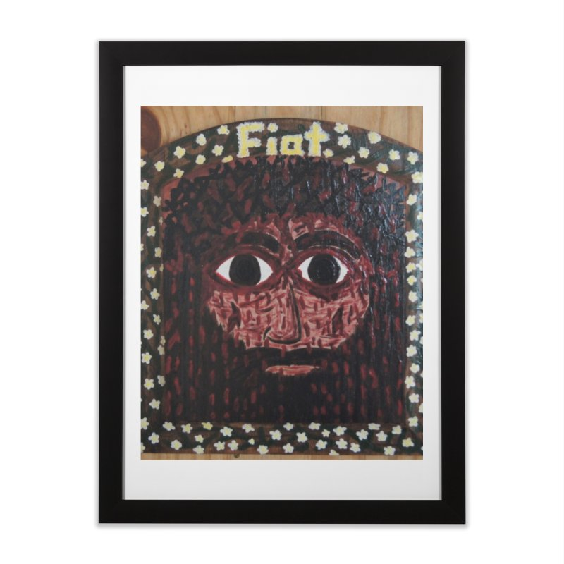 Face of the Passion Home Framed Fine Art Print by Mary Kloska Fiat's Artist Shop