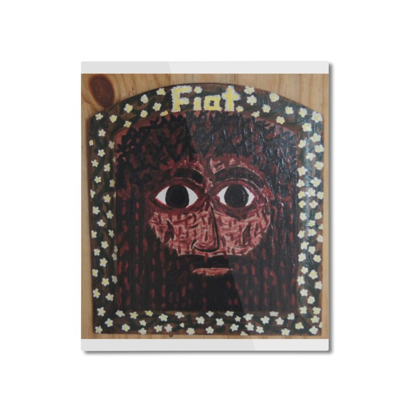 Face of the Passion Home Mounted Aluminum Print by Mary Kloska Fiat's Artist Shop