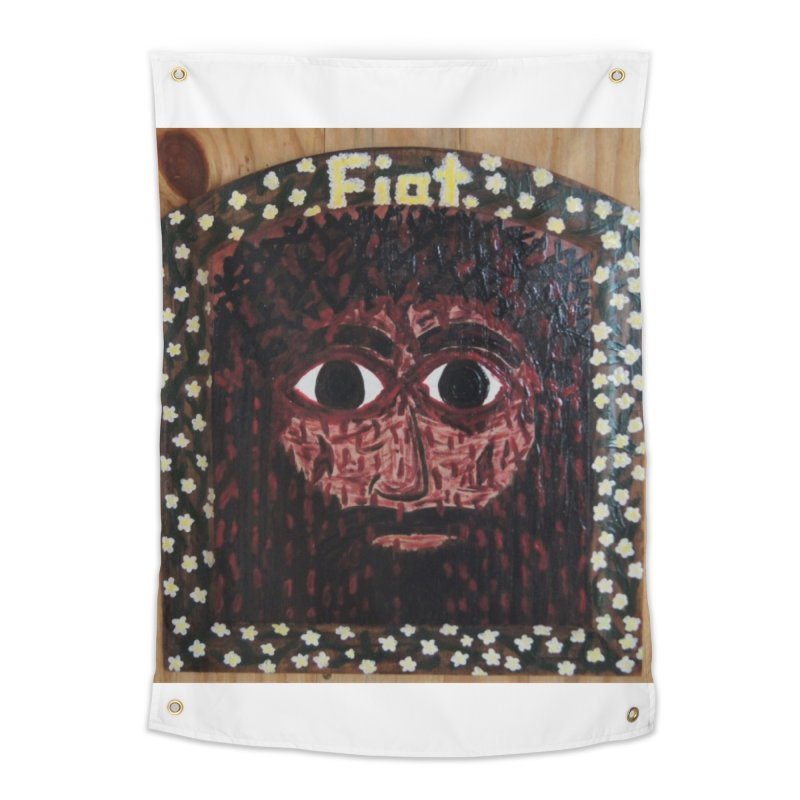 Face of the Passion Home Tapestry by Mary Kloska Fiat's Artist Shop