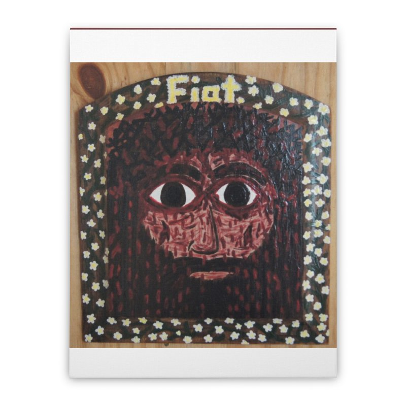 Face of the Passion Home Stretched Canvas by Mary Kloska Fiat's Artist Shop