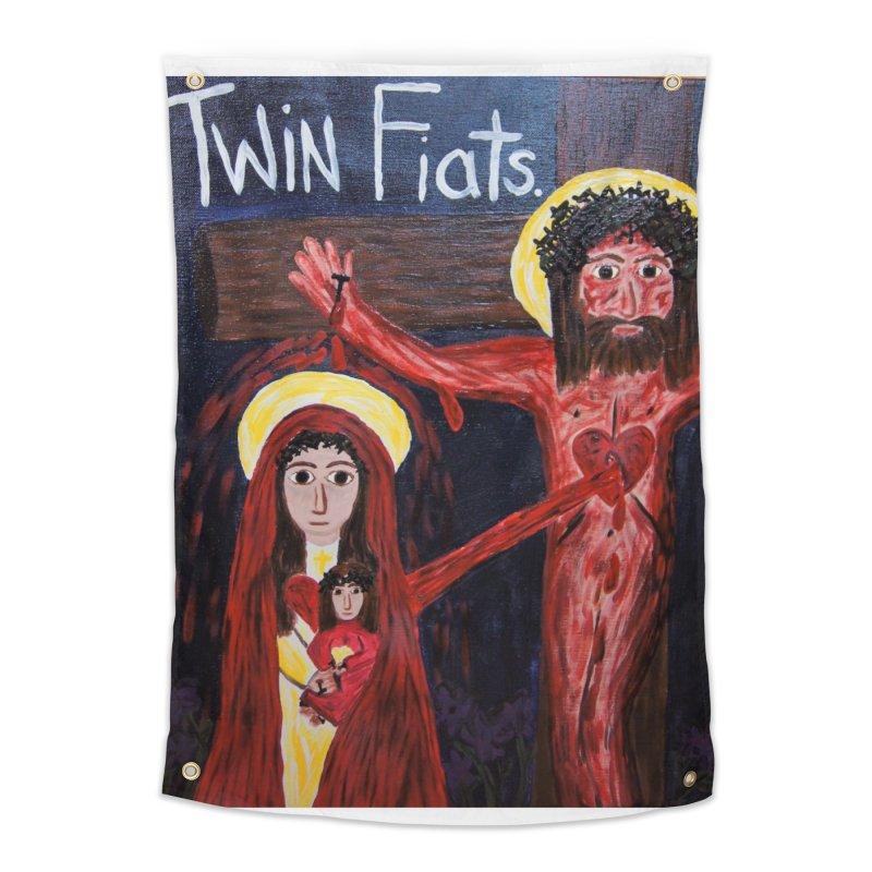 Twin Fiats Home Tapestry by Mary Kloska Fiat's Artist Shop
