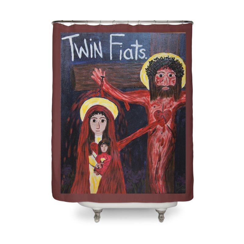 Twin Fiats Home Shower Curtain by Mary Kloska Fiat's Artist Shop