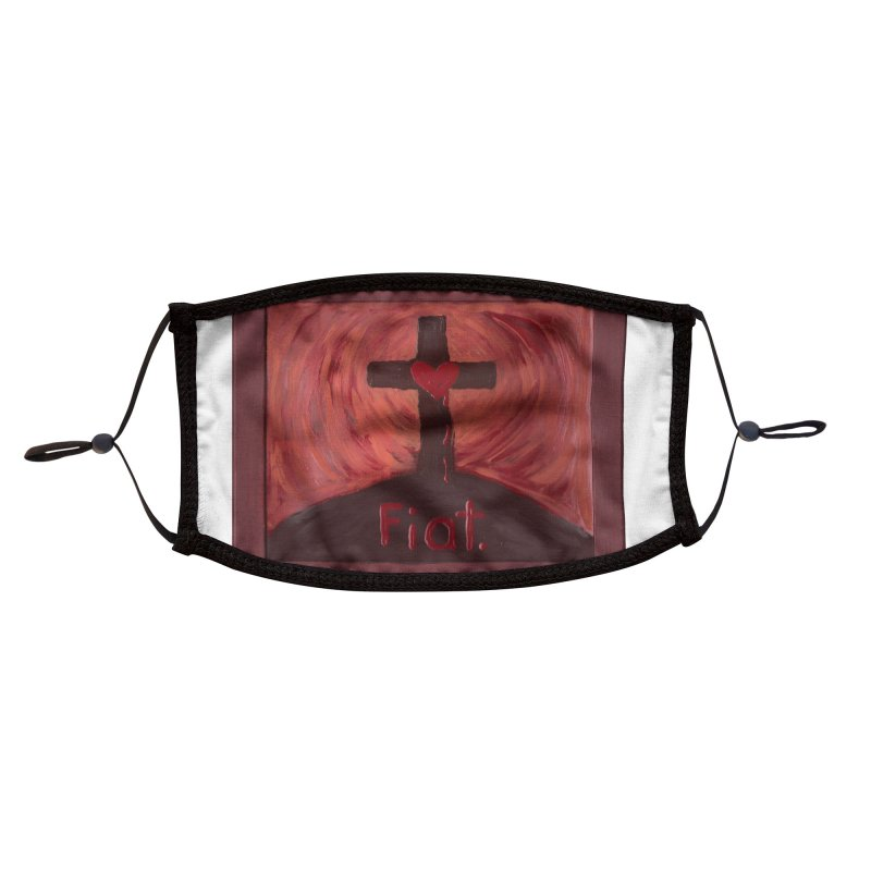 Fiat Accessories Face Mask by Mary Kloska Fiat's Artist Shop