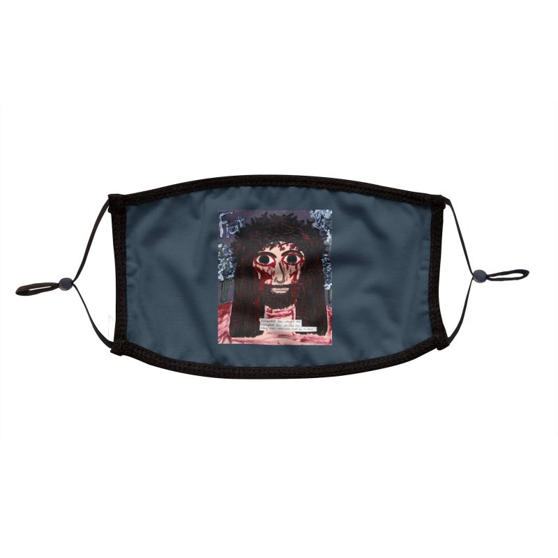 Exhausted You Sought Me Accessories Face Mask by Mary Kloska Fiat's Artist Shop