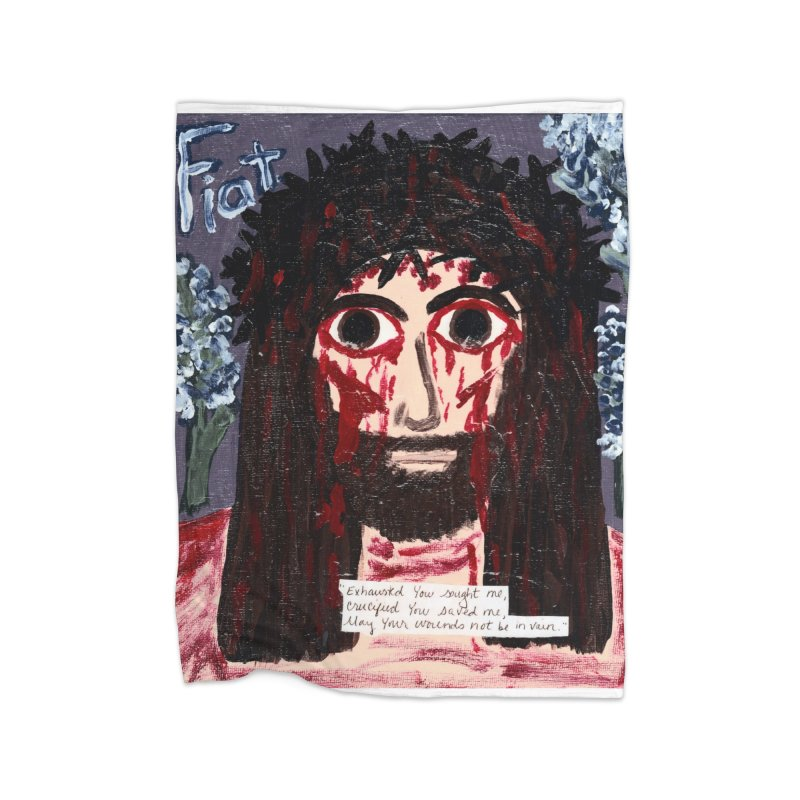Exhausted You Sought Me Home Blanket by Mary Kloska Fiat's Artist Shop