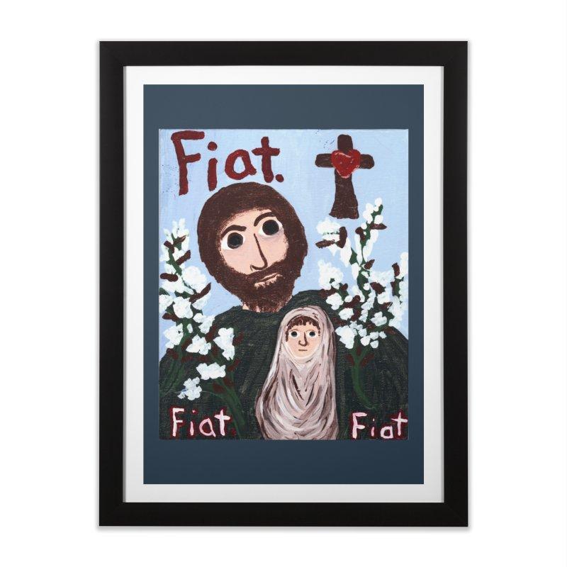 St. Joseph Home Framed Fine Art Print by Mary Kloska Fiat's Artist Shop